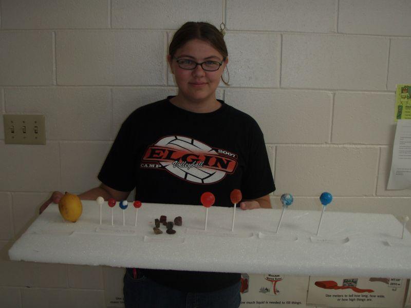 Elgin Public Schools - Creativity shines in solar system models!