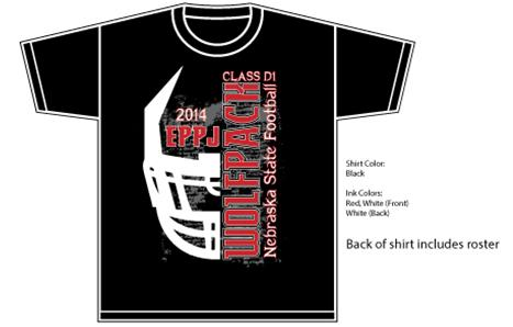 Elgin public schools 2014 state football playoff shirts for High school football shirts